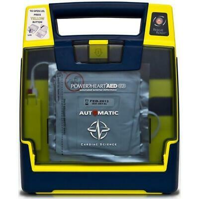 Cardiac Science G3 AED with pads and battery- 2 YEAR WARRANTY