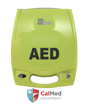 Zoll AED Plus -Defibrillator -NEW!! + CarryCase+Pads+Battery--8 YR WRNTY