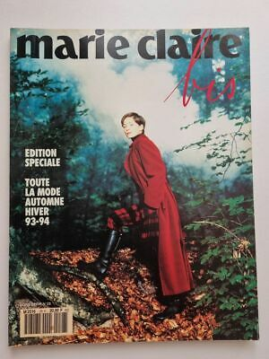 Magazine mode fashion MARIE CLAIRE BIS Hors Serie #28 automne hiver 1993 1994