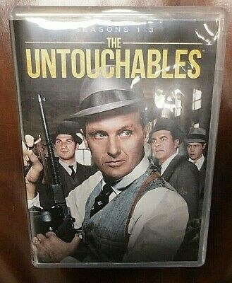 The Untouchables: Seasons 1-3 (DVD) Robert Stack + Free Quick Ship