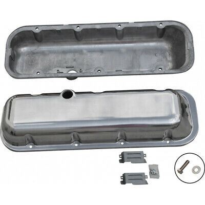 Chevy Big Block Valve Covers, OE Style Polished Aluminum, 1965-1995 55-310149-1