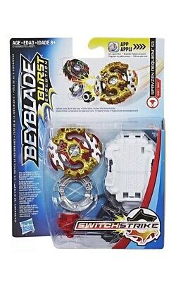 HASBRO New Beyblade Burst Evolution SwitchStrike Starter Pack Spryzen Requiem S3