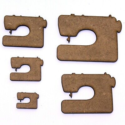 Sewing Machine Craft Shape, Various Sizes, 2mm MDF Wood.