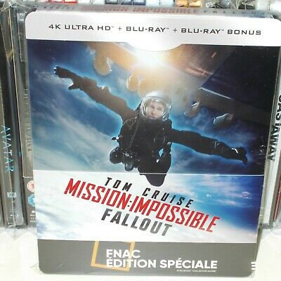 "Steelbook""Mission Impossible""Fallout Edition FNAC"