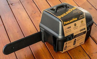 "Poulan Pro PR4218 18"" Gas Chainsaw w/Case +Extra Chain NEW!"