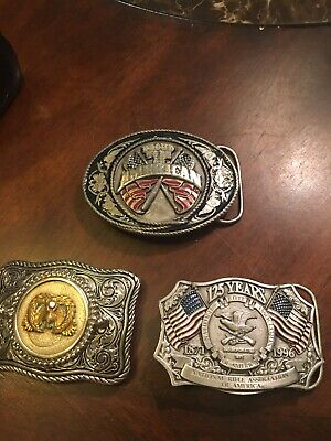 Another Nice Lot Of Vintage Beltbuckles