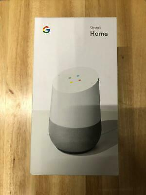 Google Home Smart Assistant - White Slate Brand New Sealed in Box