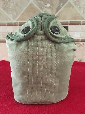 WW2 US Army Canteen / Cup Cover OD Green 1945