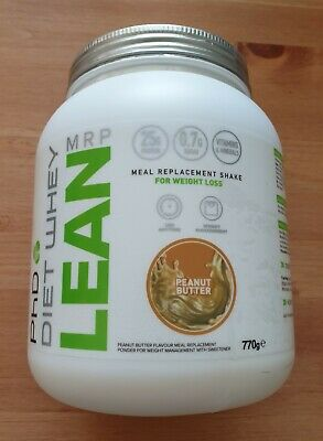 PHD DIET WHEY MRP LEAN for weight loss PEANUT BUTTER 770g NEW & SEALED!