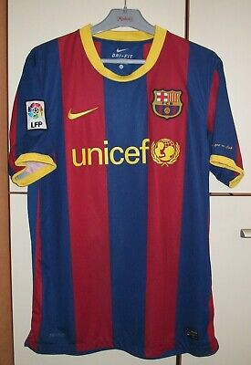 c23b8da9961 FC Barcelona 2010 - 2011 Home football shirt jersey camiseta Nike size L