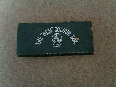 Reeves 'The Gem' Box of Watercolours - Vintage