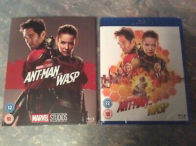 Ant-man and the wasp Blu ray. With phase 3 limited slipcover.