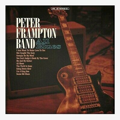 Peter Frampton Signed CD PREORDER All Blues 2019 Proof AUTOGRAPH Brand New