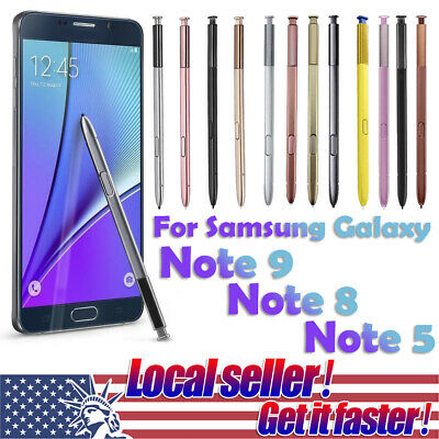 US New For Samsung Galaxy Note 9 Note 8 Note 5 S Pen Touch Stylus Pen Pencil e0