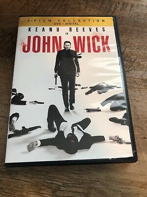 John Wick - Double Feature, New, Fast Ship Both Chapter 1 And 2