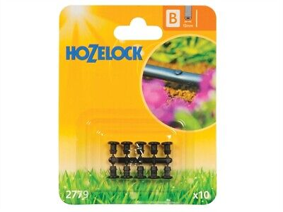 Hozelock HOZ2779 Obturation Prise 13mm (10 Pack)