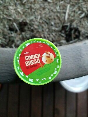 COLES Mini Collectable Christmas Little Shop GINGERBREAD Ice Cream