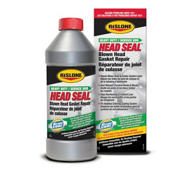 Rislone Heavy Duty Gasket Seal - One dosage STOPS all gasket coolant problems !!