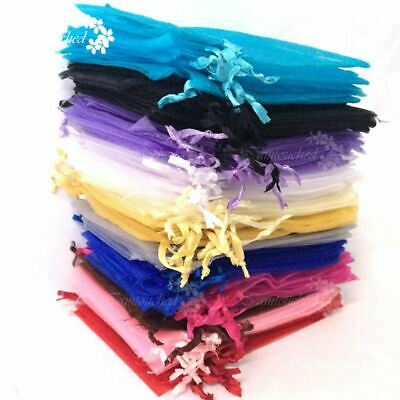 Mixed Organza Gift Bags Pouches Wedding Favour Candy Jewelry Bags Decor