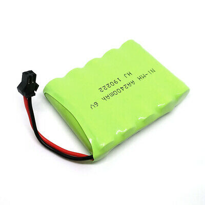 6V 2400mAh Ni-MH Rechargeable AA Battery Pack With SM 2P Plug For RC Toys