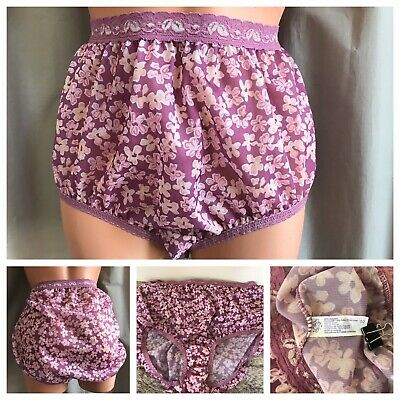 ae0a3b5a6fd VTG JMS Flower Panties Sheer Silky Pink Floral Lace-Trim Hi-Cut Panty Briefs