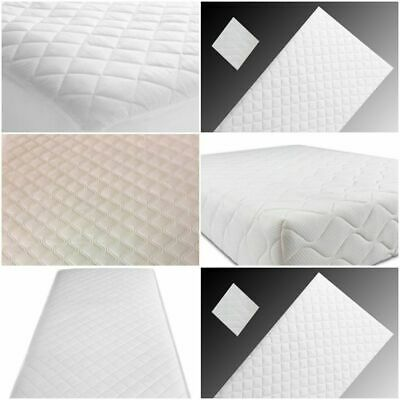 Cot mattress 160x80, 160x70, 140x70,Waterproof Extra Thick Cushy Made in Engand