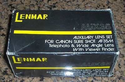 Lenmar Lens Set (Telephoto & Wide Angle) for Canon AF35M