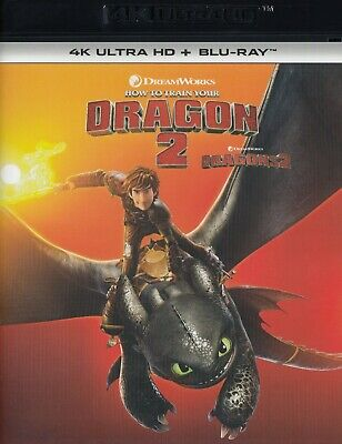 How To Train Your Dragon 2 (4K Ultra Hd/Bluray)(2 Disc Set)(Used)