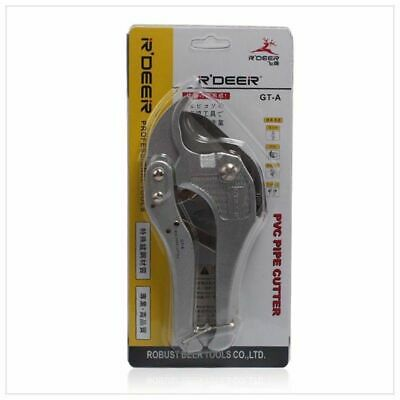 Pipe Cutter Tool Cutting Knife Ratcheting Aluminum Alloy For PVC PE Scissors