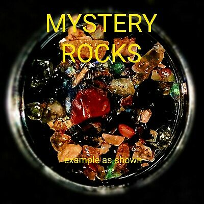X6 Mystery lucky prize dip filled with rocks and gemstones