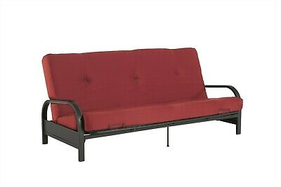 Magnificent Sturdy Metal Arm Futon Frame Modern Industrial Sofa Sleeper Pabps2019 Chair Design Images Pabps2019Com