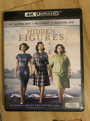 Hidden Figures -- 4K + Blu-Ray DVD + Digital