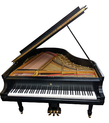 Steinway & Sons Model M Grand Piano - Mint Condition - MUST SEE & HEAR [!! !!!]