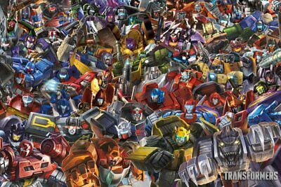 "Poster - Transformers - Collage 36x24"" N241397"