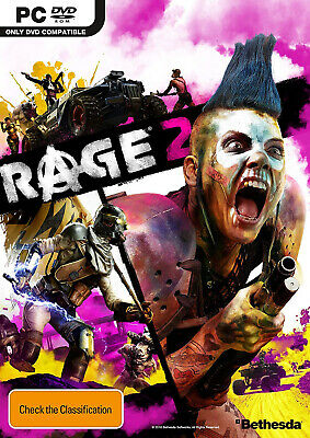 Rage 2 PC BRAND NEW FAST FREE SHIPPING