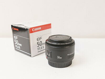 Canon 50mm F1.8 II EF Lens ~As New ~$103 with code