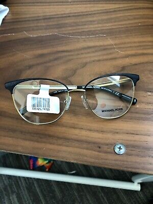 3064e0a6d34e1 New michael kors Authentic Black Gold 0MK3018 Glasses