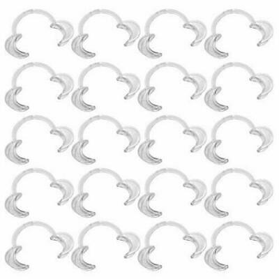 100pcs Size S Dental Cheek Retractor Mouth Opener for Mouthguard Challenge Game