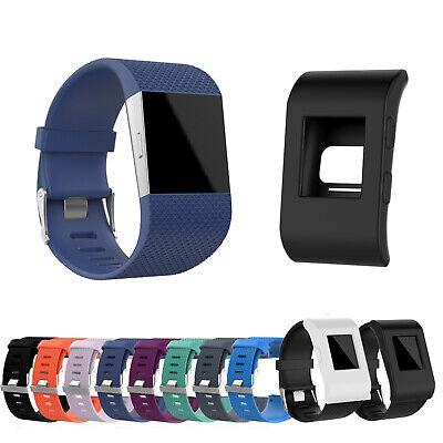 Silicone Replacement Band Wrist Strap Wristband For Fitbit Surge Tracker WS