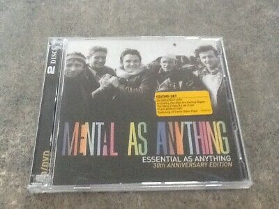 Essential as Anything by Mental as Anything 24 Track CD & Dvd Free Post