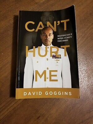 Can't Hurt Me: Master Your Mind and Defy the Odds Paperback GOOD CONDITION
