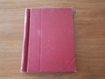 OLD ROMNEY STAMP ALBUM:  GB and BRITISH COLONIES + USA-1300 OLD STAMPS.