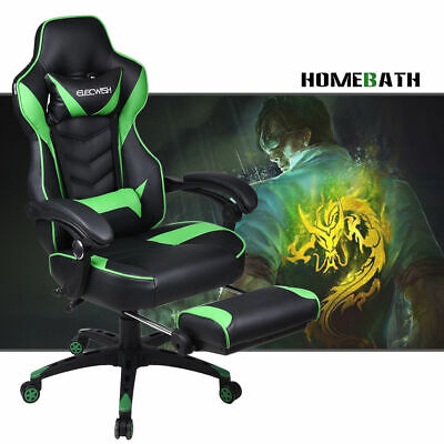 Wondrous Real Racing Seat Office Chair Bucket Leather Diamond Stitch Andrewgaddart Wooden Chair Designs For Living Room Andrewgaddartcom