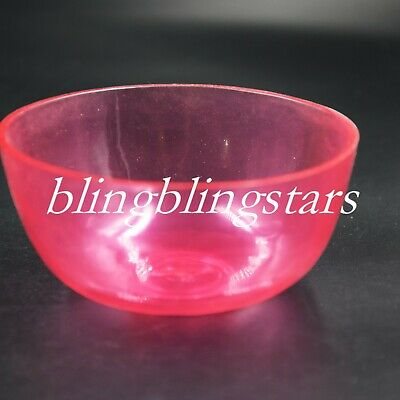 2 Pcs Dental Mix Flexible Rubber Bowls Impression Alginate Lab Nonstick Pink