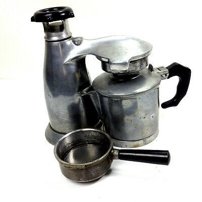 Vintage VESUVIANA COFFEE MAKER Italian Stove Top Espresso Maker