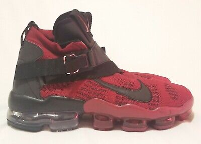 NIKE AIR VAPORMAX PREMIER FLYKNIT Team Red/Black 2018 AO3241-600 SIZE 11.5