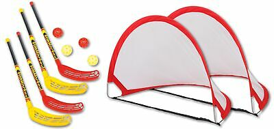 Bandito Funhockey complete with 2x2pcs Set and Pop-Up Goal Mini Set