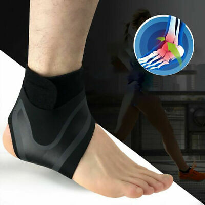 Ankle Support Strap Adjustable Brace Foot Sprains PainRelif Sports Protector New