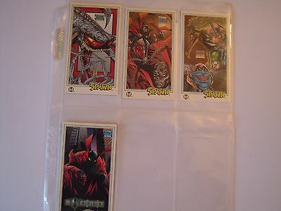 Spawn Oversized  Trading Cards Subset  4 Mc Farlane Gallery   Cards  1995 Tbe