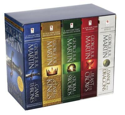 A Song of Ice and Fire, 5 Vols. George R. R. Martin
